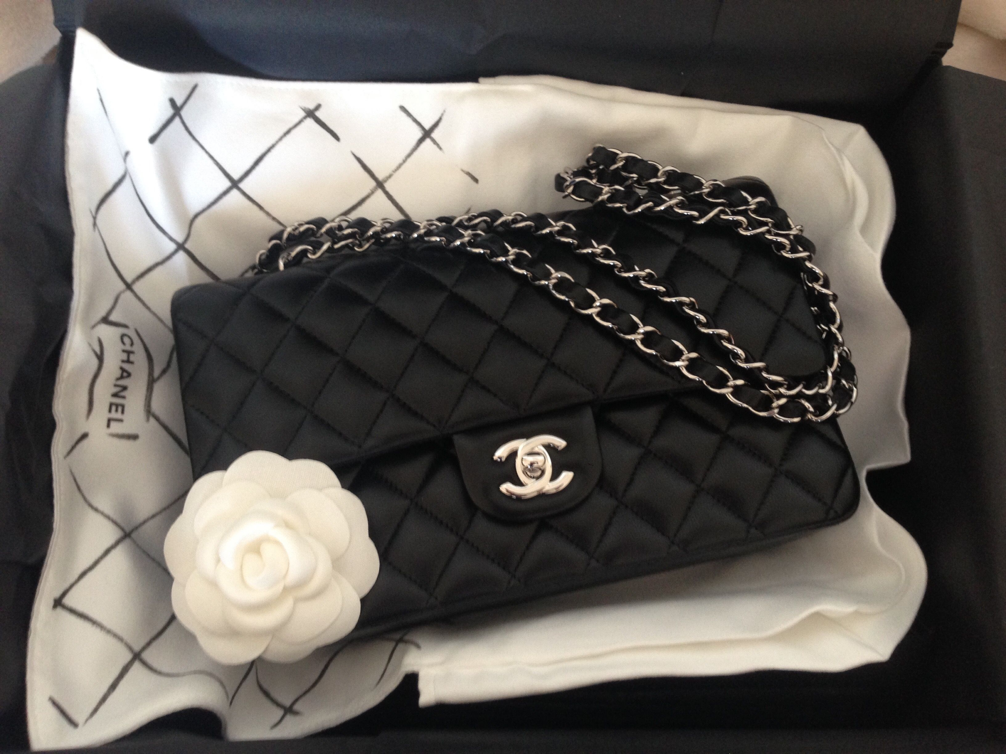 Chanel Timeless Classic Happy Birthday Dream Things Pinterest