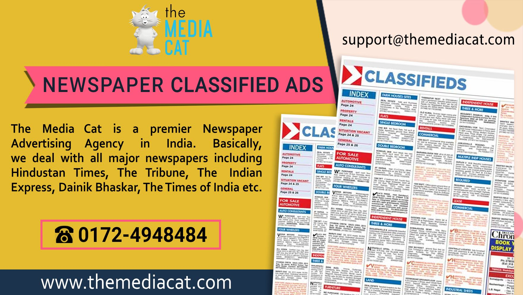 double page classifieds