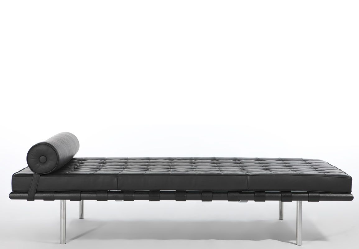 Lit Barcelone ou Barcelona Day Bed - 1929. Ludwig Mies Van der Rohe  sc 1 st  Pinterest : mies van der rohe chaise lounge - Sectionals, Sofas & Couches