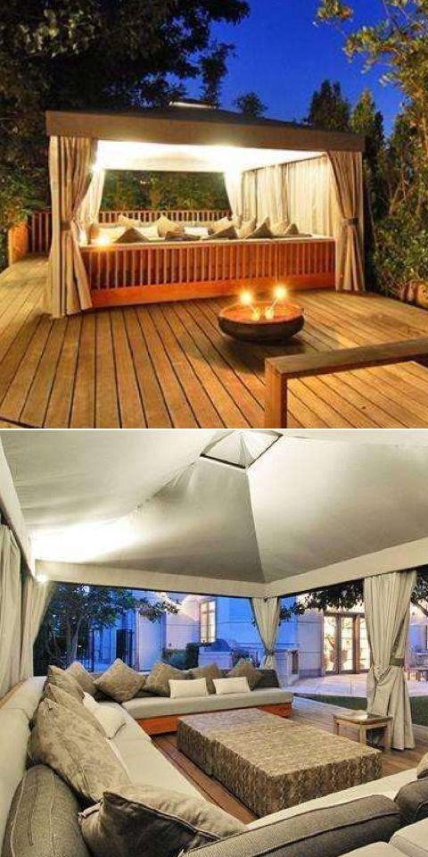 Luxury Outdoor Spaces⭐️Houzz | Luxury outdoor spaces, Pool ... on Houzz Outdoor Living Spaces id=44505
