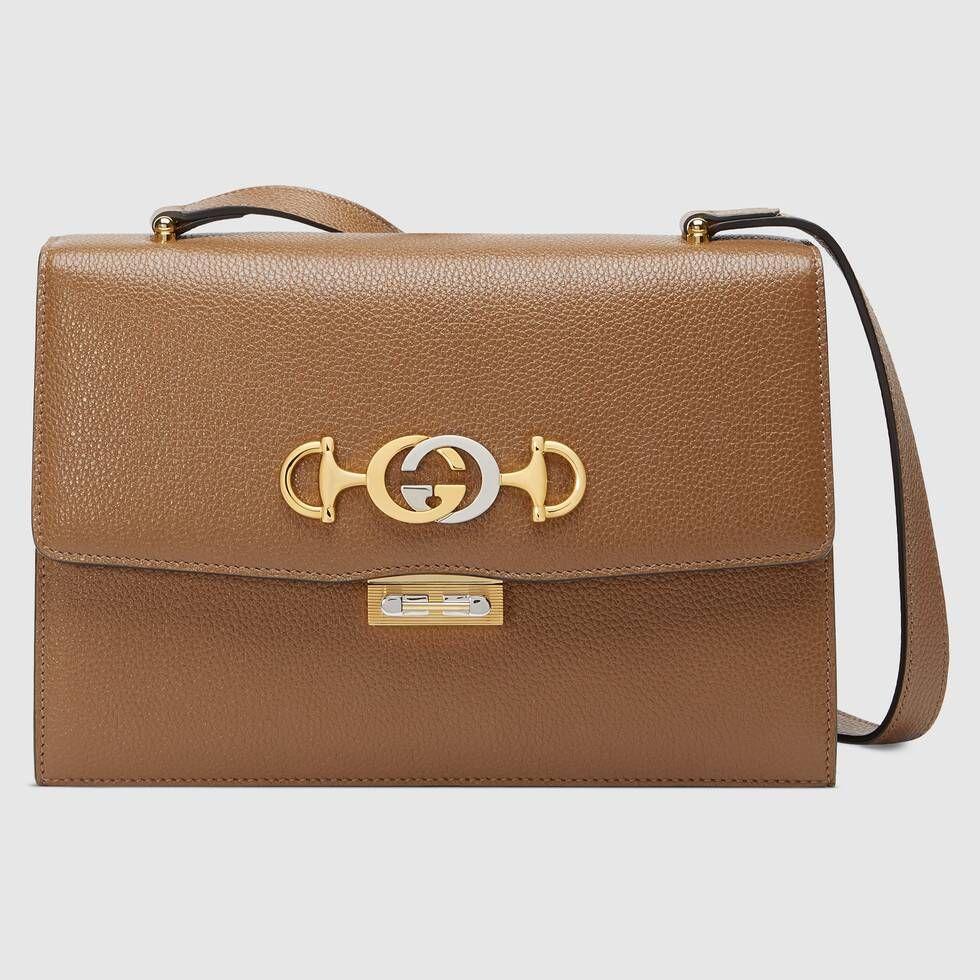 Photo of Gucci – Gucci Zumi grainy leather small shoulder bag