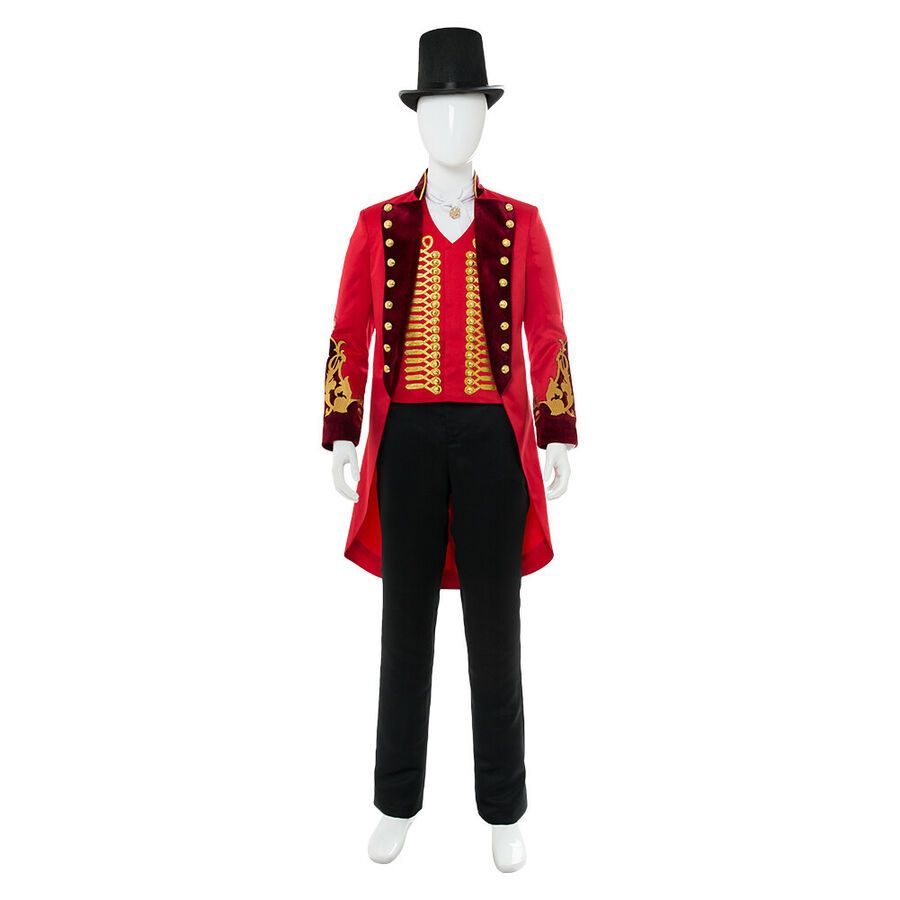 P.T.Barnum Drama Suit Uniforms The Greatest Showman child Cosplay costume custom