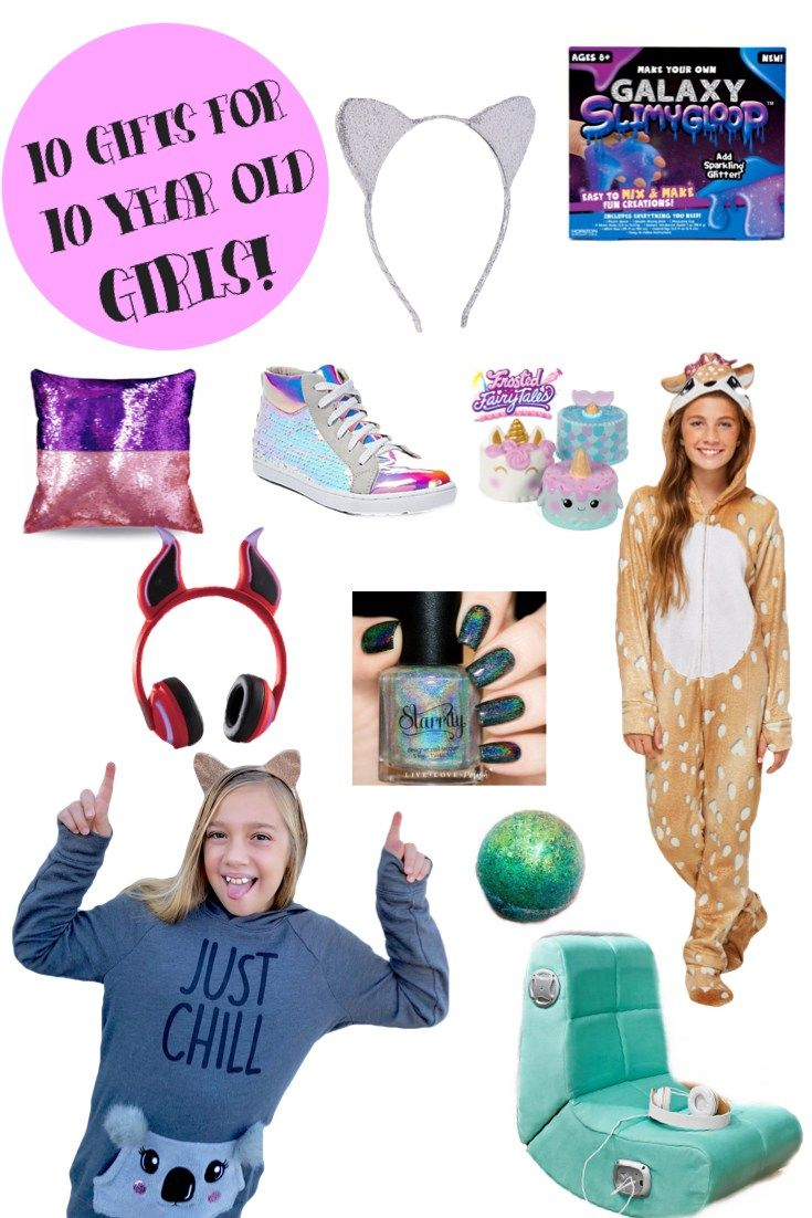 10 Gifts For 10 Year Old Girls Handpicked By My 10 Year Old Tween Christmas Gifts Christmas Gifts For 10 Year Olds 10 Year Old Christmas Gifts