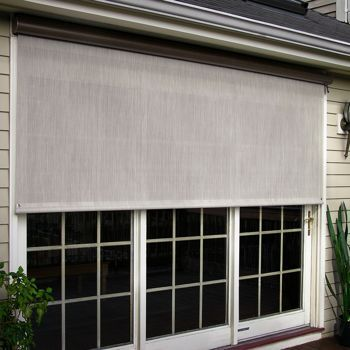 Costco Sunsetter Manual And Motorized Easyshade Solar Screens