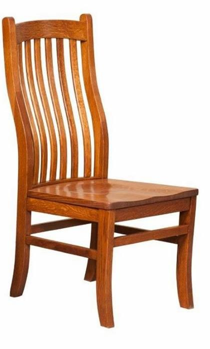 Amish Mission Arts And Crafts Chair Dining Chairs Wood Dining