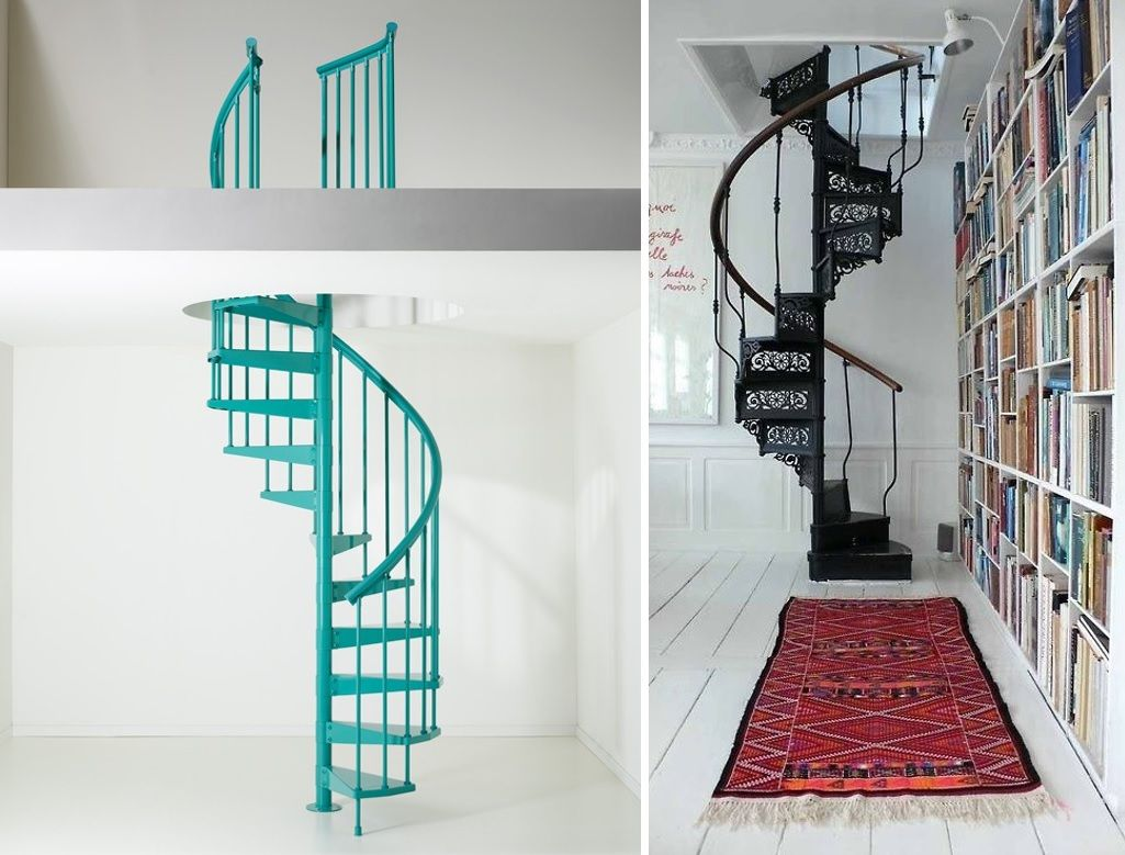 Escaleras caracol 12 escaleras pinterest escalera - Escaleras de caracol economicas ...