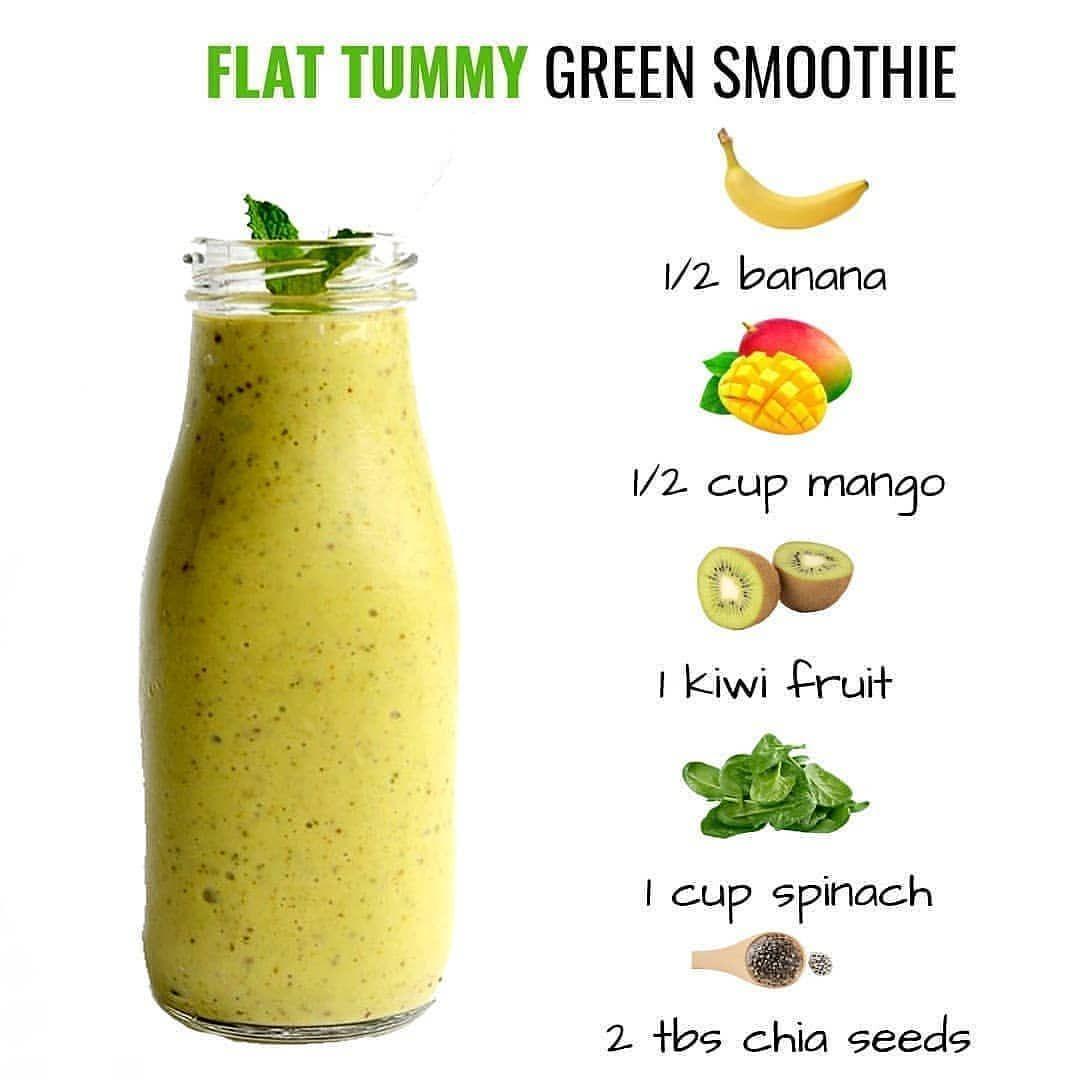 Flat Tummy Green Smoothie