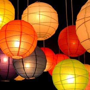 Paper Lantern Candle Lights Skylantern Night Paper Lantern Lights Outdoor Paper Lanterns Paper Lanterns