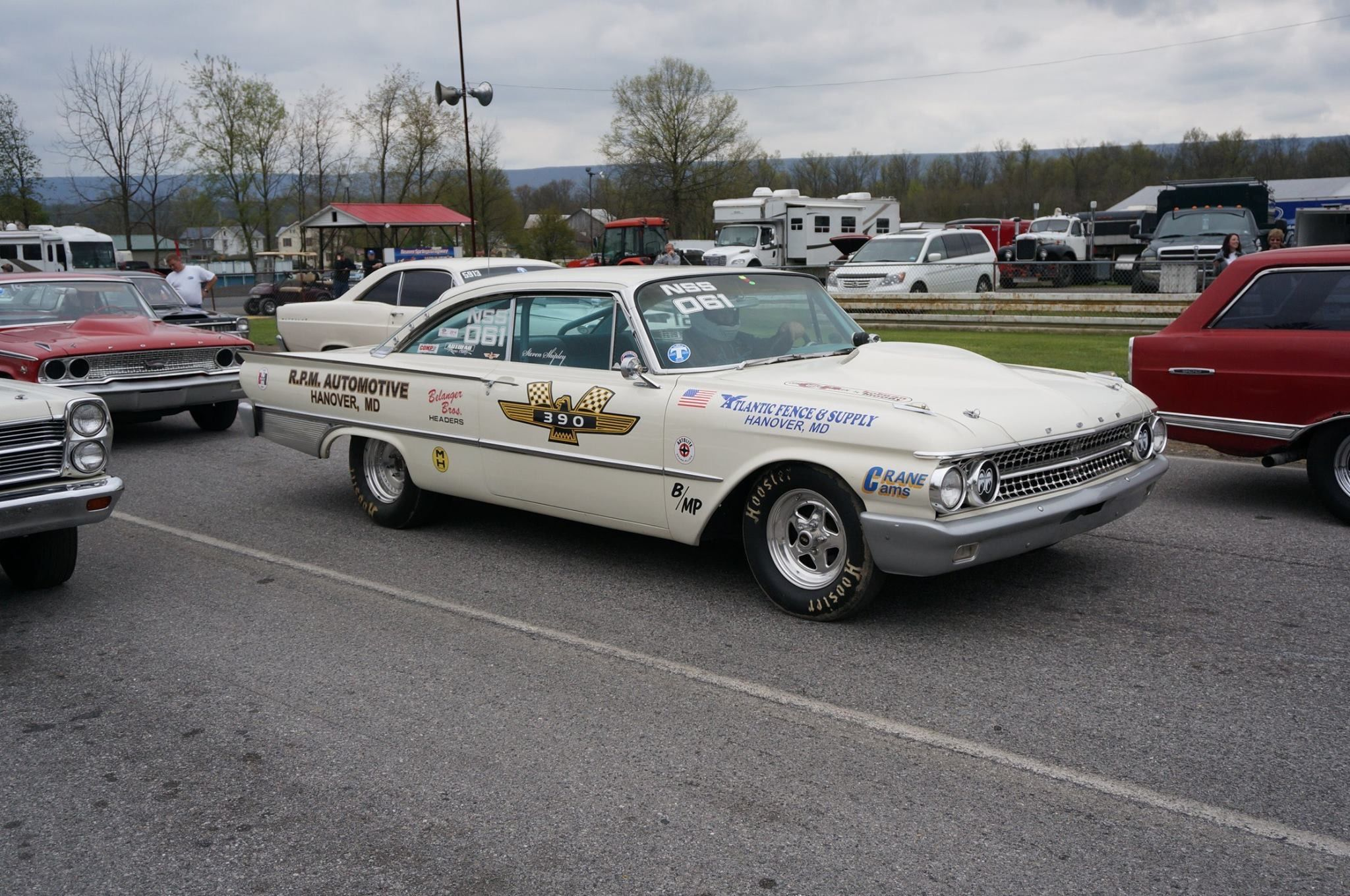 1961 ford starliner drag car as seen on the starliner facebook page