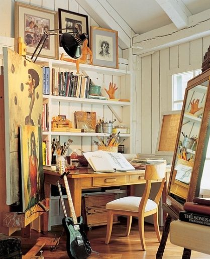 Ways To Be Happier At Home Art Studio Space Art Studio At Home