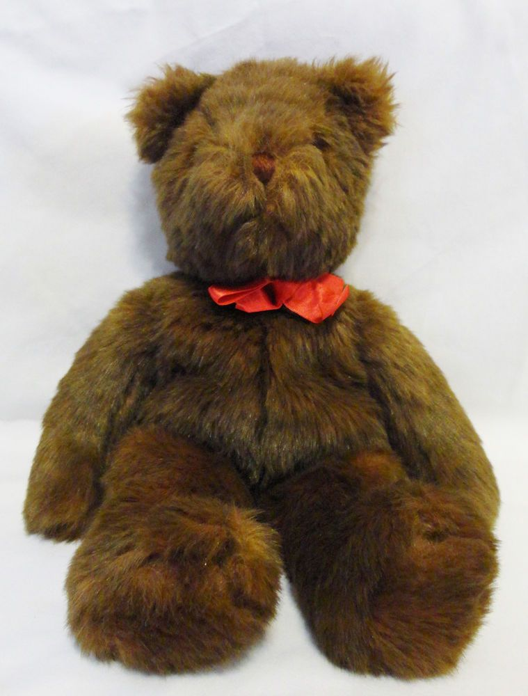 c240aa9a1bb Ty Classic 1990 PJ Brown Teddy Bear Beanie Baby 17