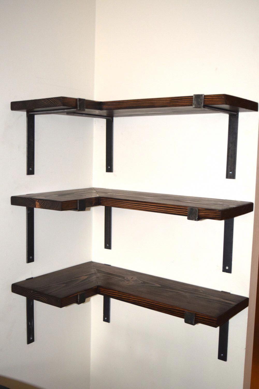Homeofficefurniturecloset In 2020 Cottage Kitchen Shelves Shelves Corner Shelves