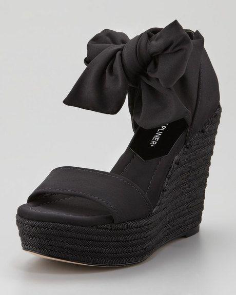 74ddd29681 Donald Pliner Peep Toe Wedges, Wedge Heels, Pretty Shoes, Beautiful Shoes,  Black