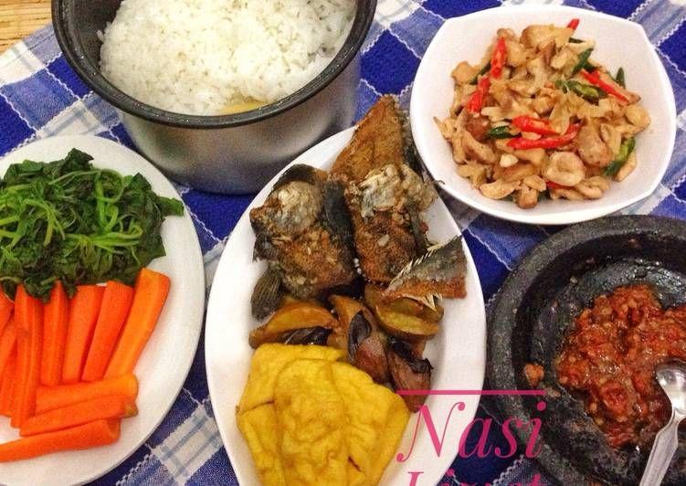 Nasi Liwet Komplit Resep Resep Makanan Minuman Dan Makanan
