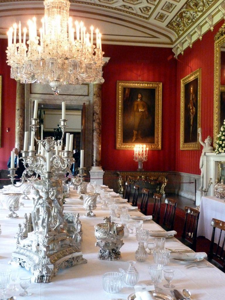 Chatsworth House Interior Layout: Chatsworth House, Dining Room Design