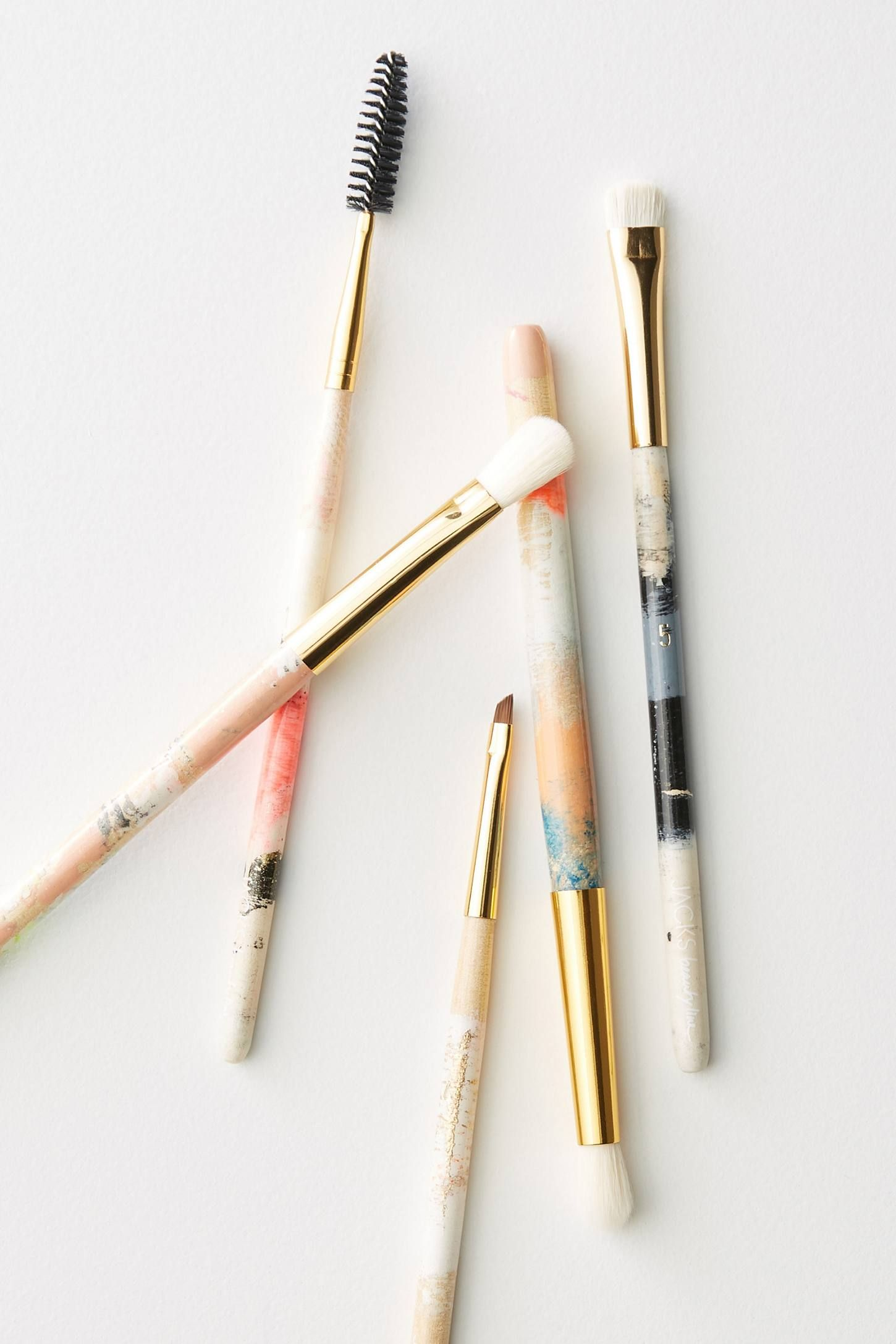 JACKS Beauty Line Eye Brush Set by in Pink Size All, at