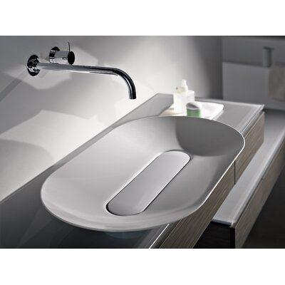 Metal Oval Vessel Bathroom Sink, Bathroom Basin Sink