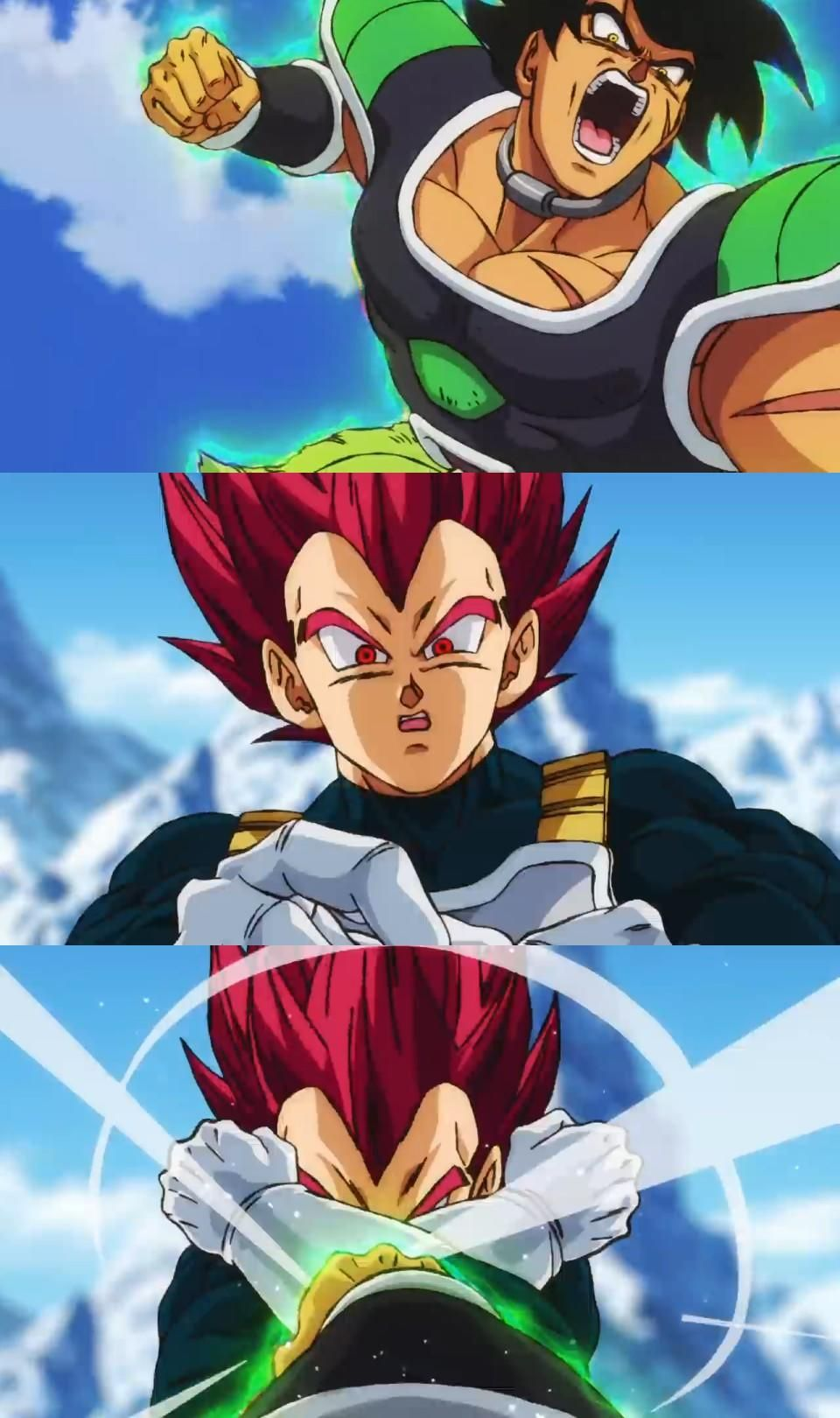 Goku and vegeta vs broly dragon ball super desenhos kawaii y - Dragon ball z baby broly ...