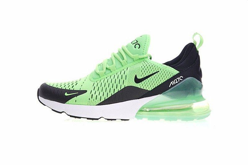 air max 270 nero verde