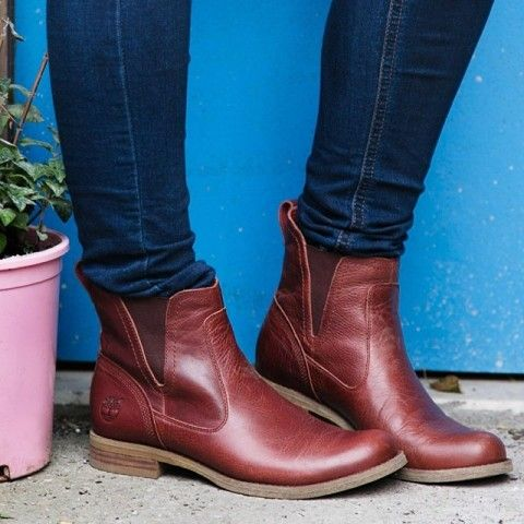 Timberland Savin Hill Lace Chelsea boots | Spotted on @Refinery29
