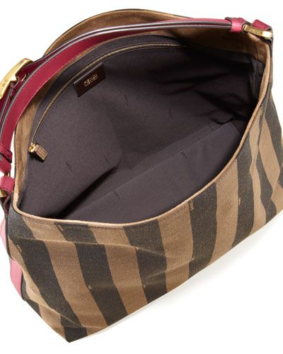 971efe07d74 V1MTX Fendi Pequin Borsa Hobo Bag, Fuchsia Brown   Wish List  3 ...