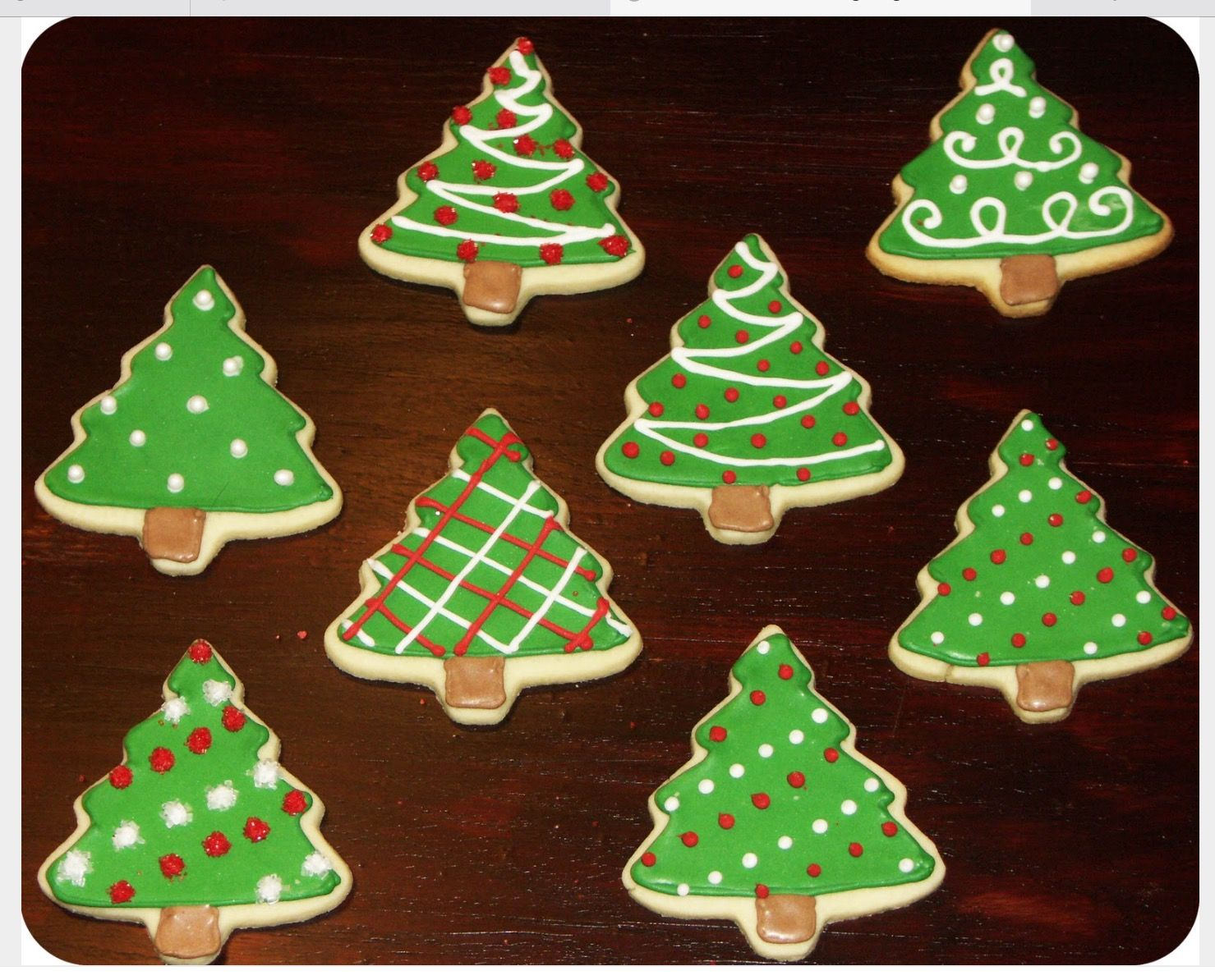 how to decorate christmas tree cookies with royal icing stylish - How To Decorate Christmas Sugar Cookies