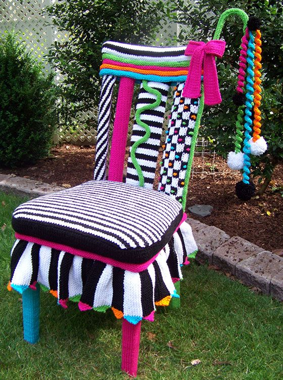 Freeform Whimsical Chair & Freeform Whimsical Chair | Crochet Fantasy under construction ...