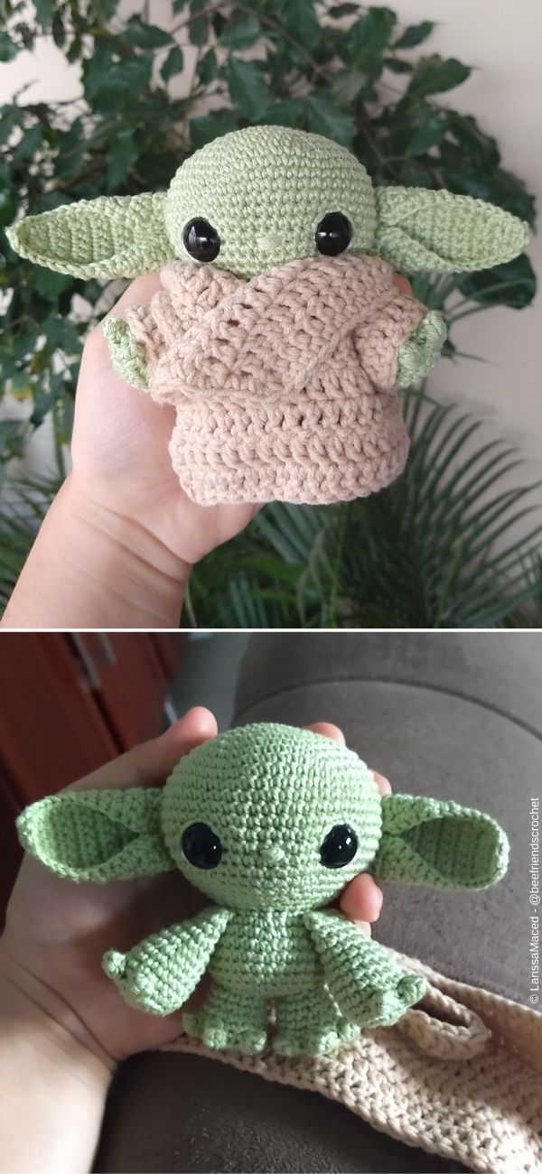 Photo of #knit Babydecke Baby Yoda Amigurumi Kostenlose Häkelanleitung – #knit Baby Blanke …