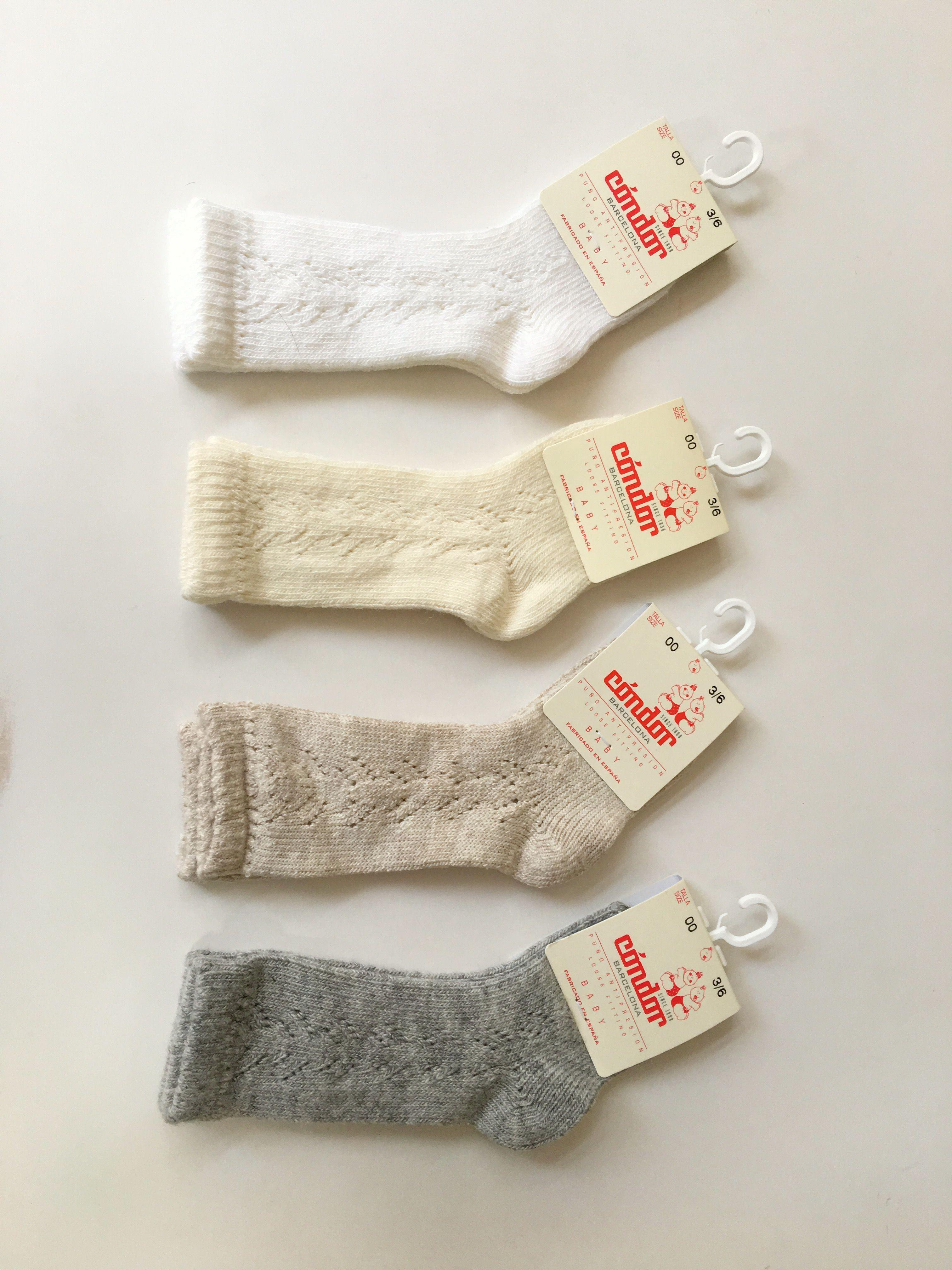 83951da41 Lace socks By Condor in white
