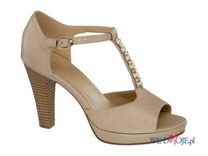 Bezowe Eleganckie Sandaly Deichmann Spring Shoes Fashion Shoes Shoes Spring Summer