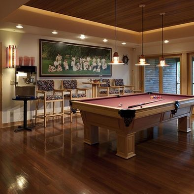 20 Of The Most Lavish Billiards Room Ideas | Room, Modern Fireplaces And Pool  Table Room
