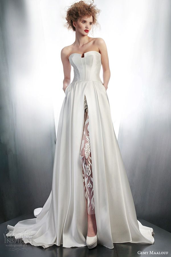 Gemy Maalouf 2015 Wedding Dresses — Part 1 | Wedding, Pants and Style