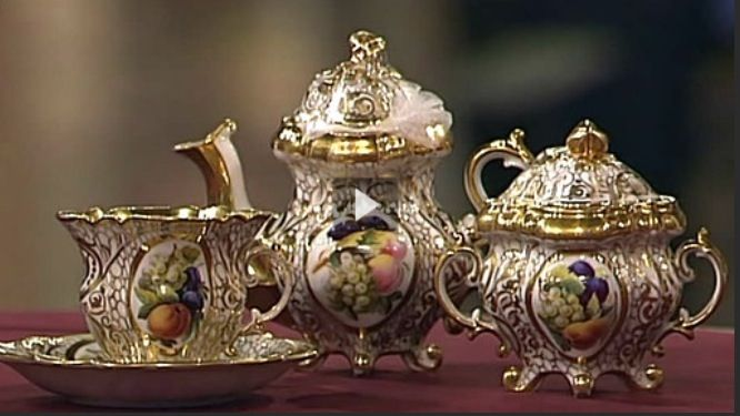 Very  Nice,  Antique tea set.