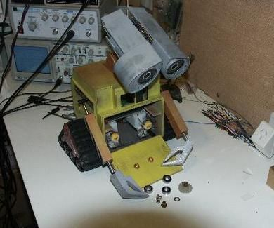 Easy Diy Animatronics Wall E Easy Diy Diy