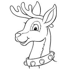 Image Result For Rudolph Face Clipart Black And White Christmas Coloring Books Printable Christmas Coloring Pages Christmas Coloring Printables Free