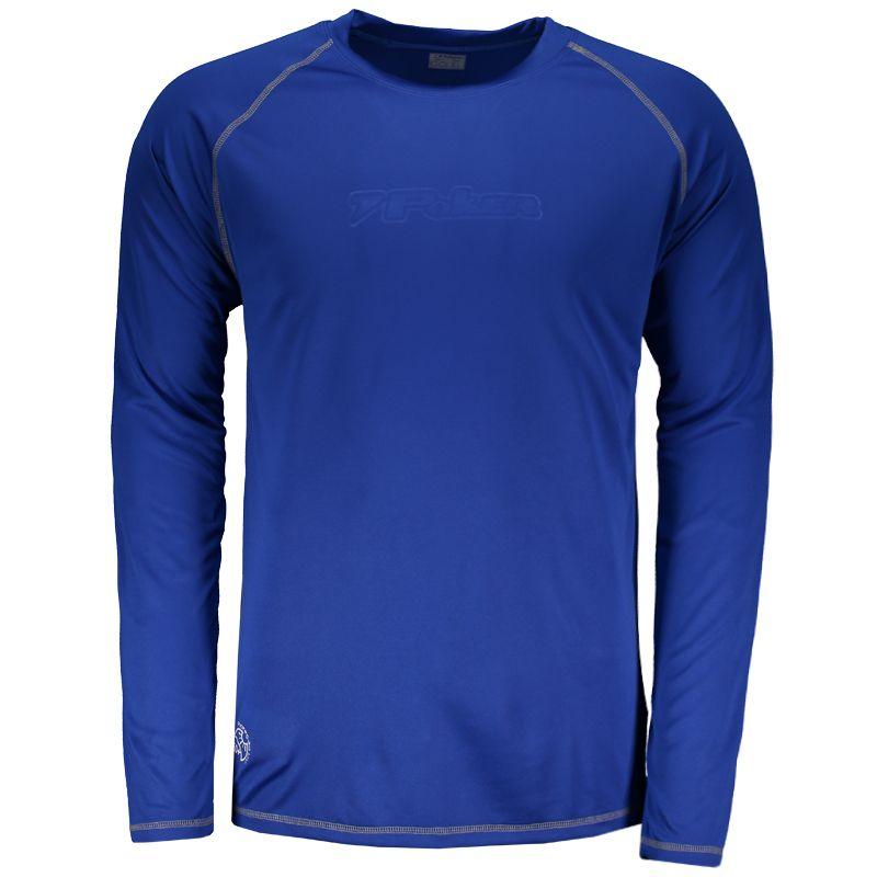 ae70232203 Camiseta Poker UV50 Manga Longa Azul Somente na FutFanatics você compra  agora Camiseta Poker UV50 Manga