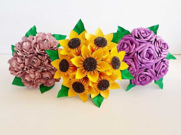 Www Paperbouquets Co Uk Paper Flower Origami Kusudama Mix And
