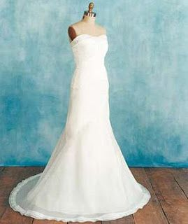 tits wedding dress Busty bride