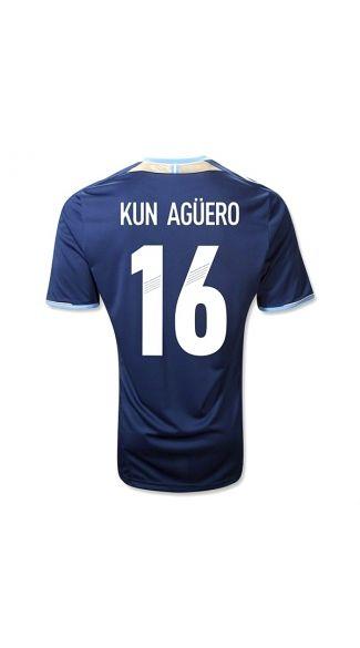 best authentic 2e7e2 97edc Cheap and Good quality 2012 2013 12/13 Argentina KUN AGUERO ...