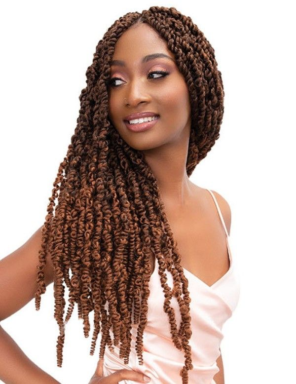 Passion Twist Hair Natural Black Water Wave Bohemian Braids #passiontwistshairstylelong