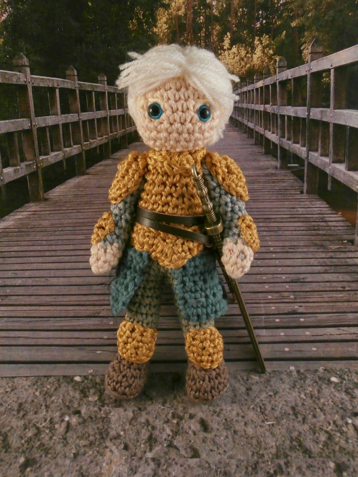 Brienne of Tarth amigurumi
