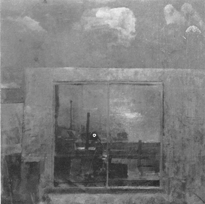 Sea and Cloud, 36x36ins, 1978