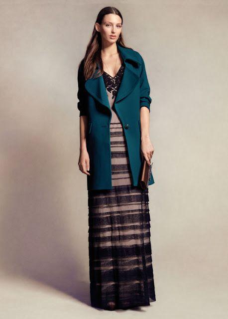 De Largo Fashion Abrigo Un Para Boda Vestido wRBv4Hq