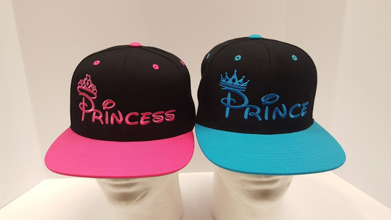 82a12f38da881 Prince and Princess Hats. Couple Hats. Love Caps