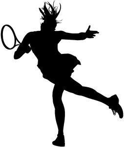 Image Result For Womens Tennis Vector Tennis Art Silhouette Art Tennis Wallpaper