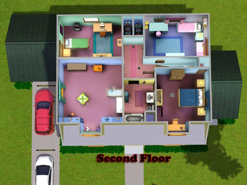 Pin By Chase Strietzel On Sims4 House Layouts House Blueprints House Floor Plans
