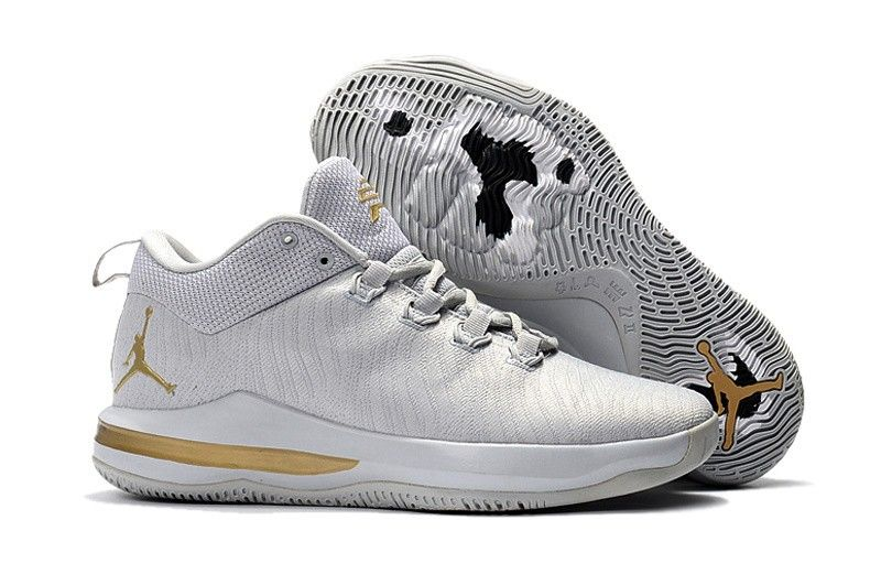 uk availability 07a43 41624 Mens Nike Air Jordan CP3 X Basketball Gray Gold Shoes,Jordan-CP3 Shoes Sale  Online