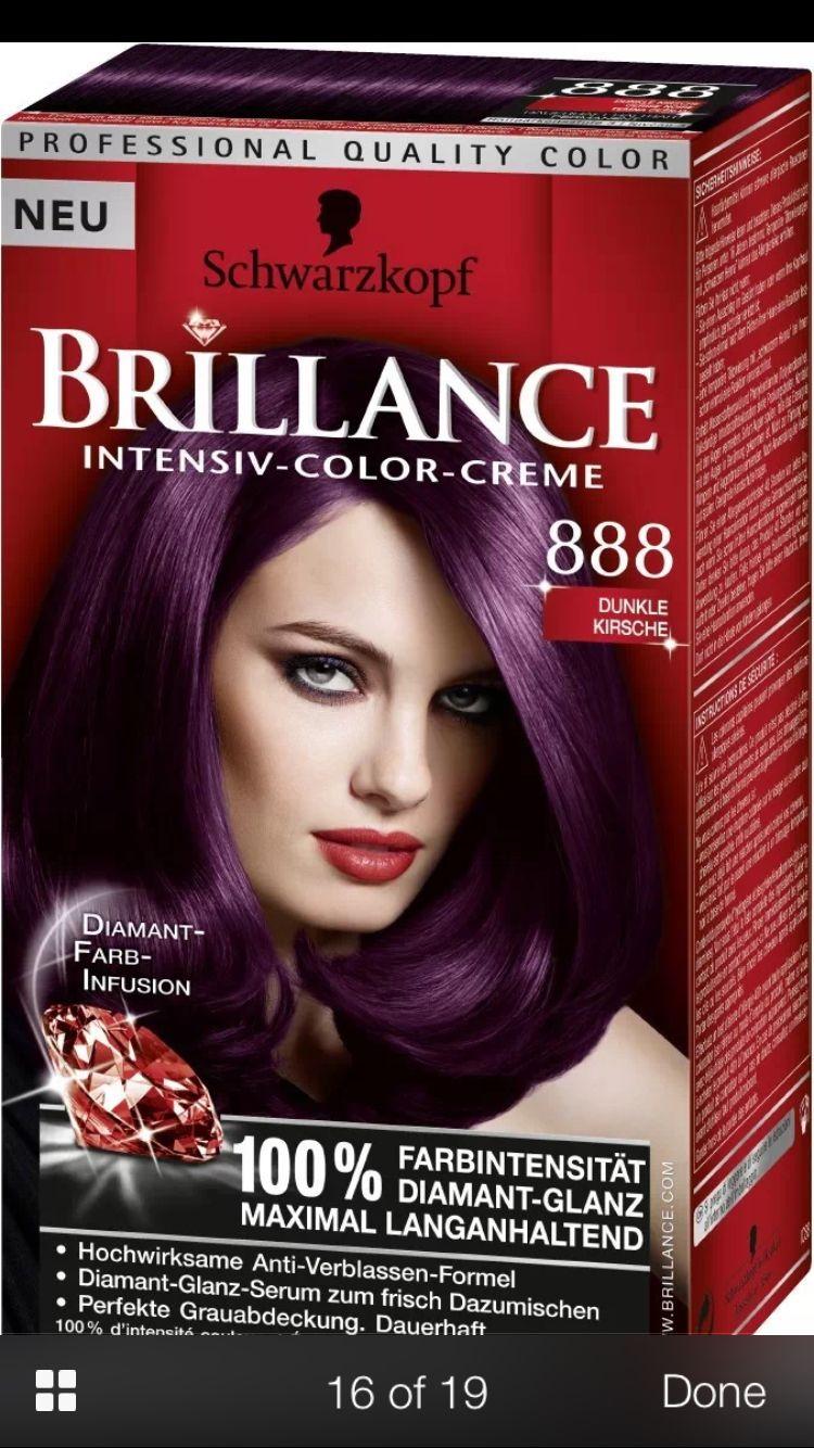 Dark Cherry Hair Color Dark Hair Dye Hair Color Purple