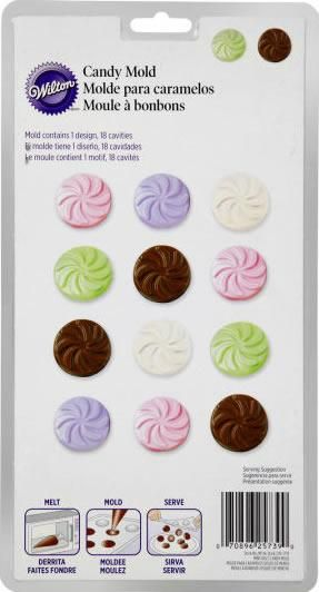 Mint Discs Candy Mold - Party Depot