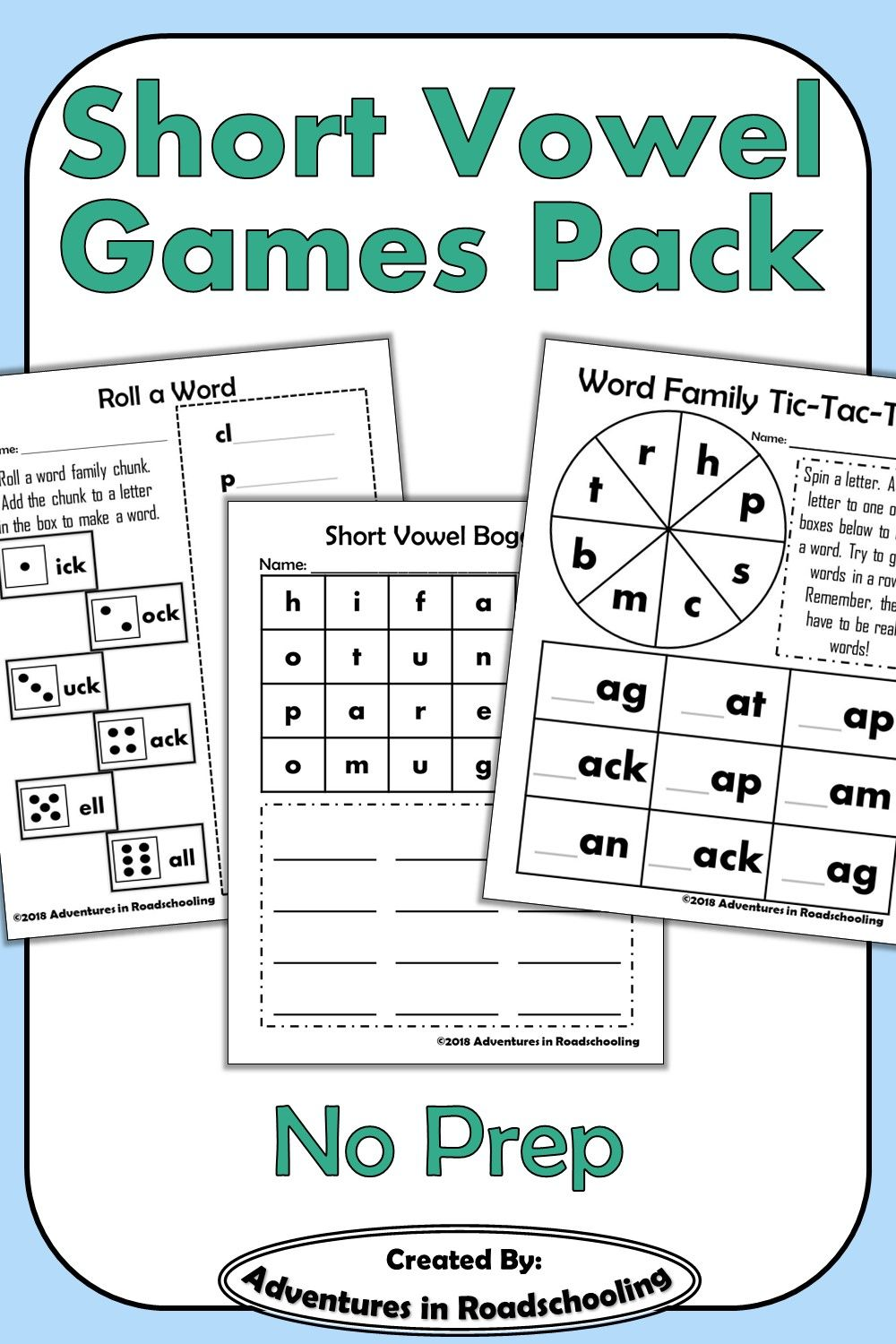 Short Vowel Games And Activities Pack Short Vowel Games Word Study Games Short Vowels [ 1500 x 1000 Pixel ]